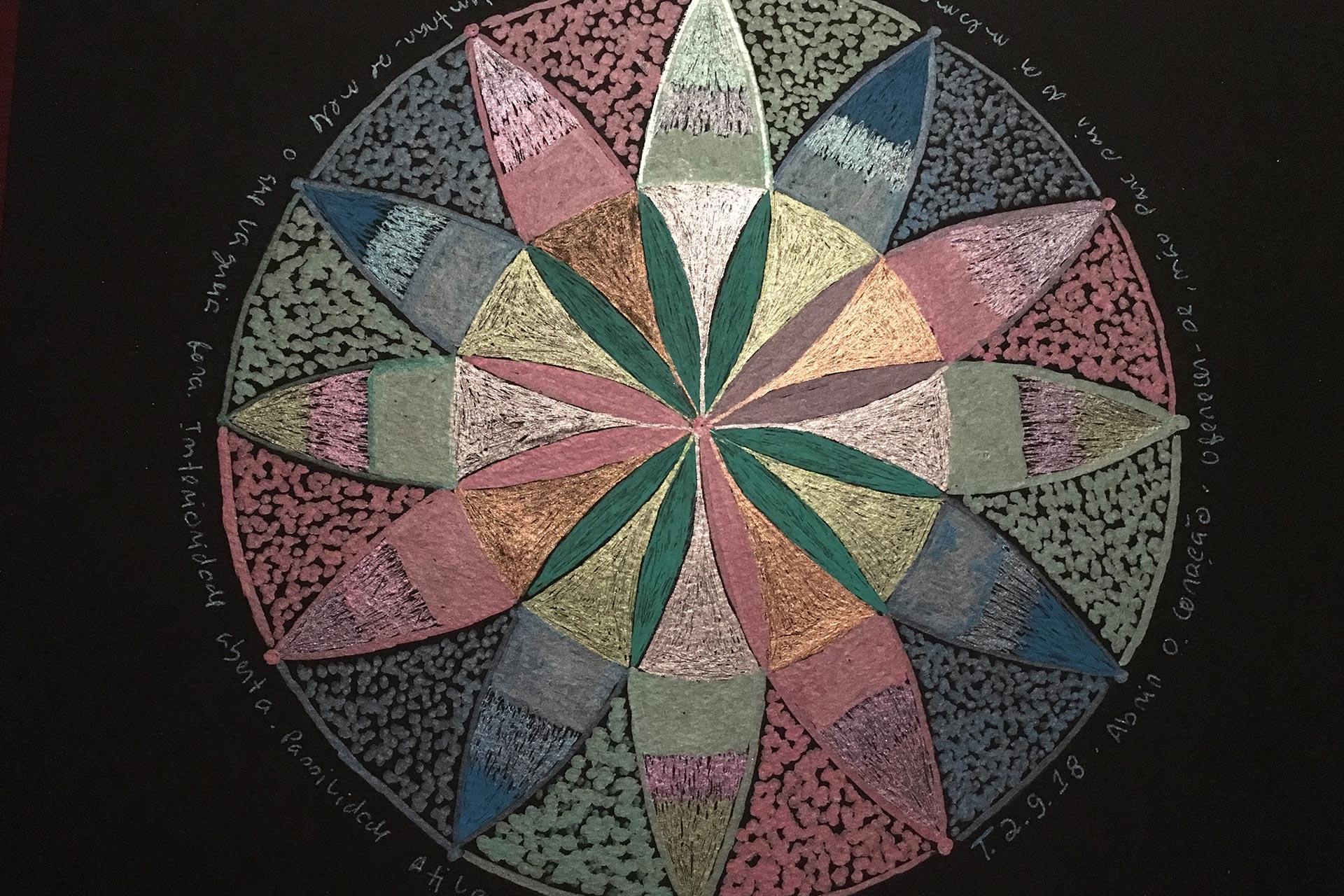 Círculo de Mandalas – 12 – Compaixão, Unir